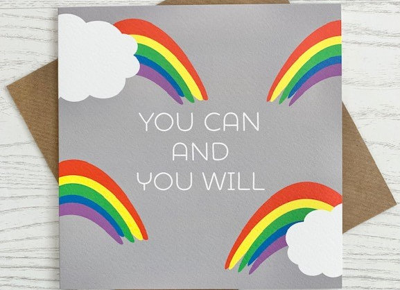 Greeting Card - You Can and You Will