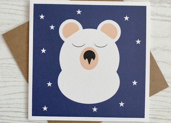Greeting Card - Polar Bear