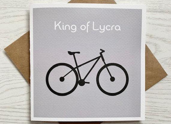 Greeting Card - King of Lycra
