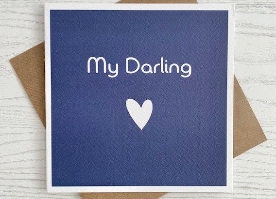 Greeting Card - My Darling