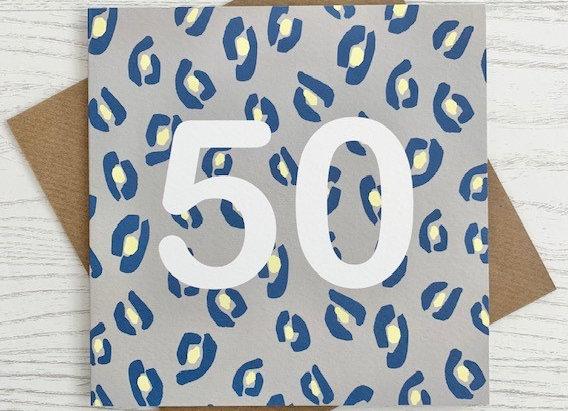 Greeting Card - 50th Birthday Card