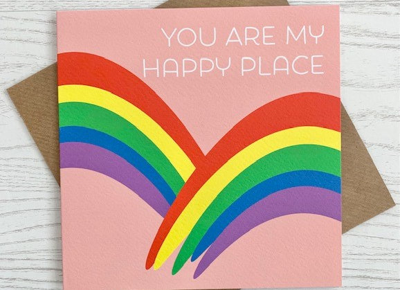 Greeting Card - You Are My Happy Place