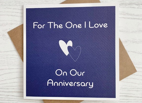 Greeting Card - For The One I Love
