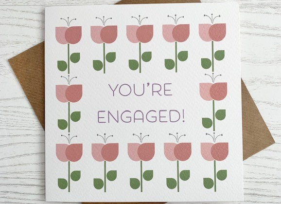 Greeting Card - You're Engaged
