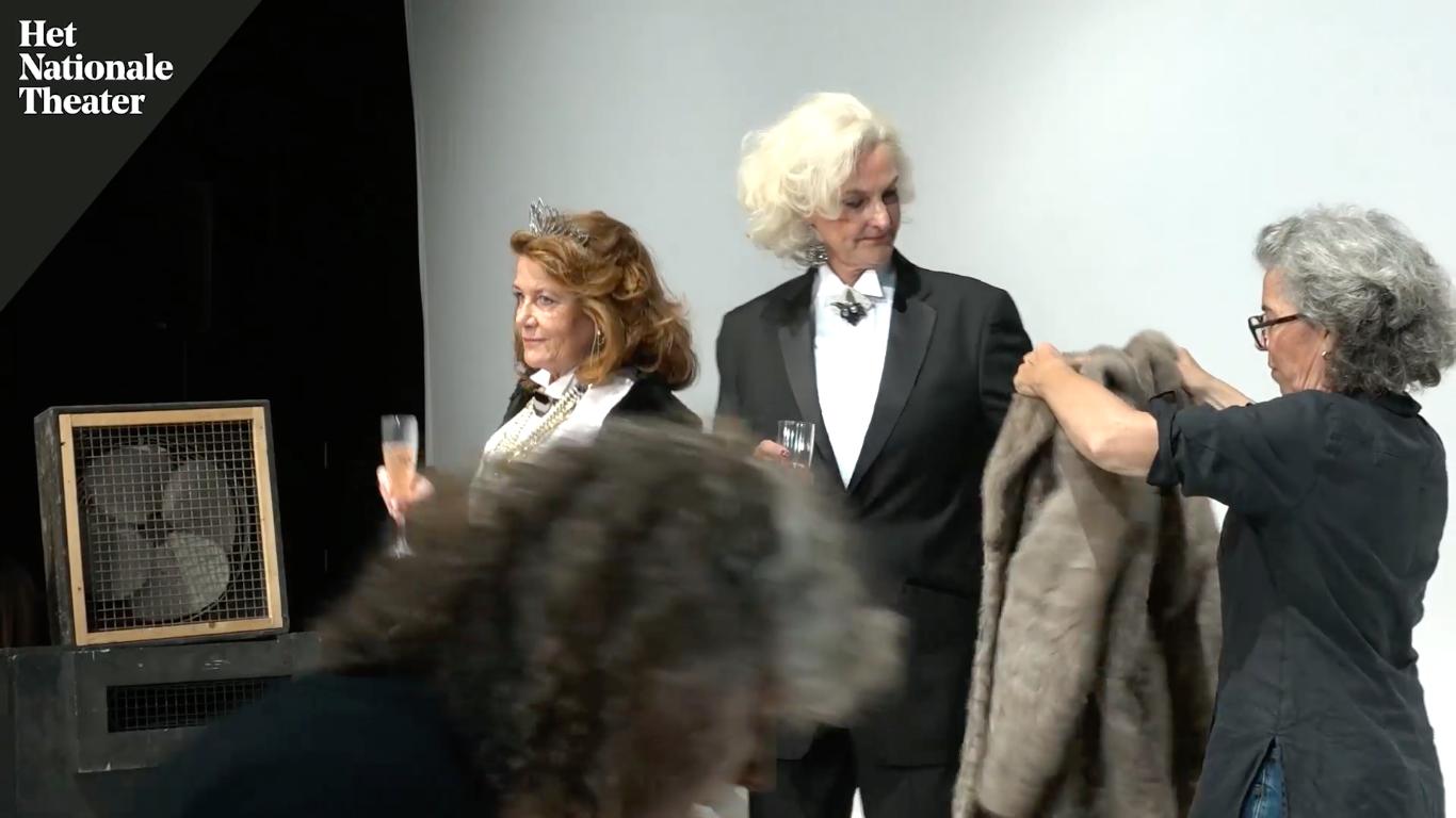 Backstage shoot 'De Vrekkin' 2018
