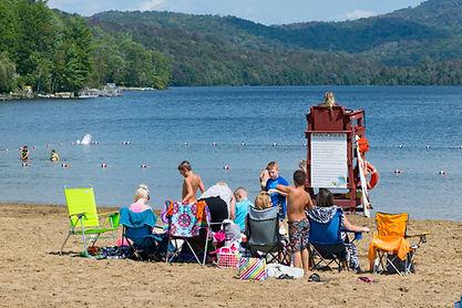 Pine Lake Park Beach