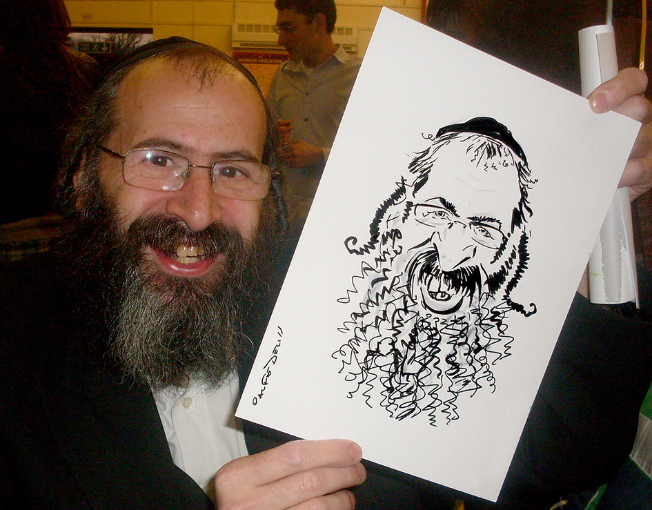 Caricature in South London