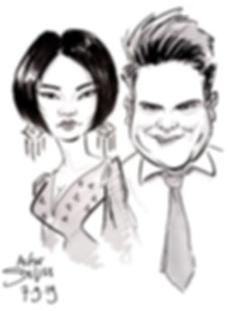 wedding party caricatures by caricaturist mr sketchum.jpg