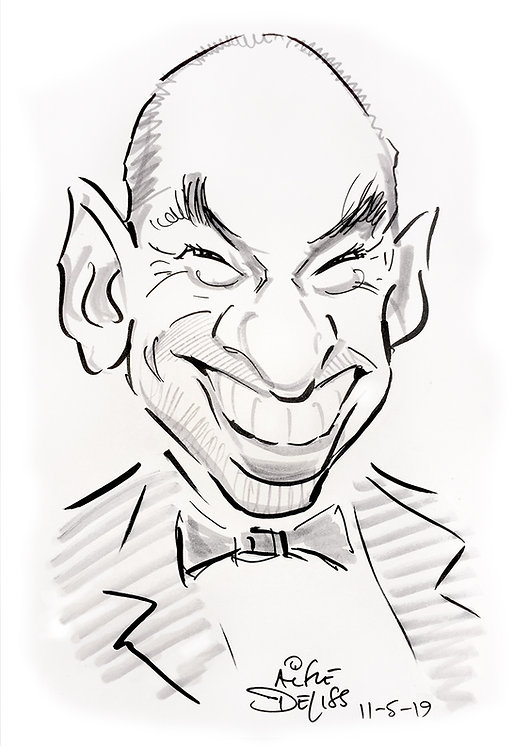 Corporate party entertainment & caricatures in central London