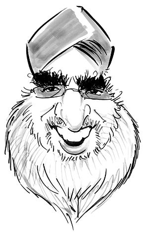 factory staff caricature in hampshire