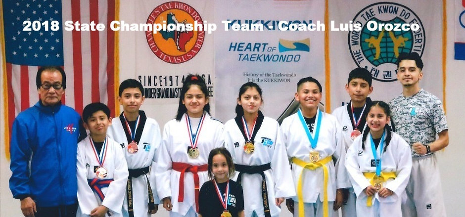 Chang Lee TKD - State Championship Team