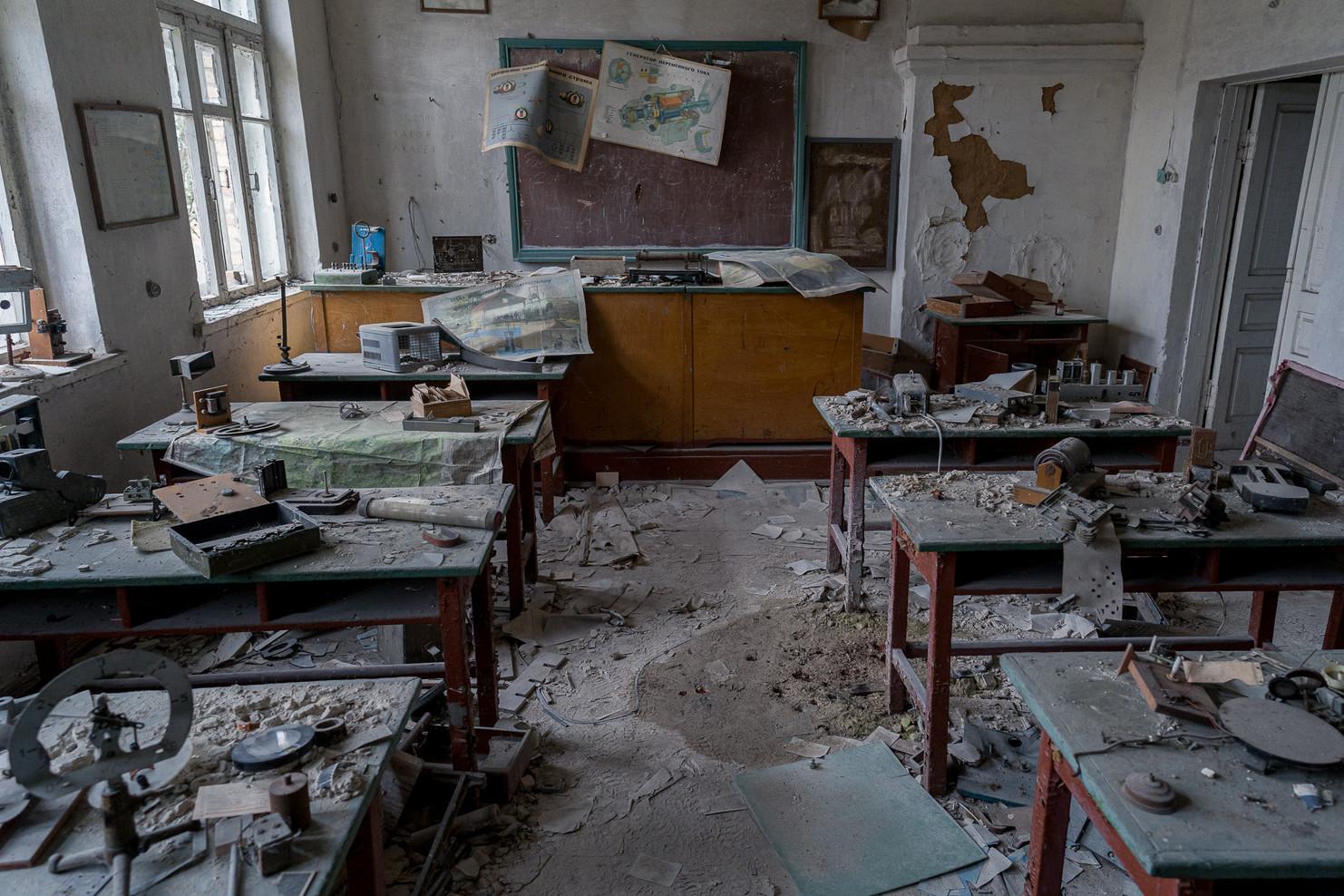 Ecole du village de Mashevo