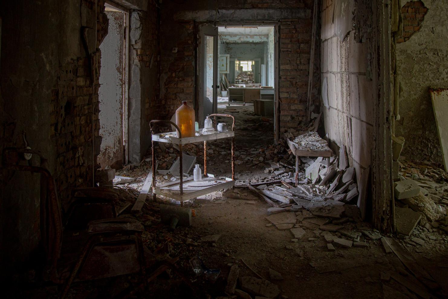 Couloirs de l'hôpital