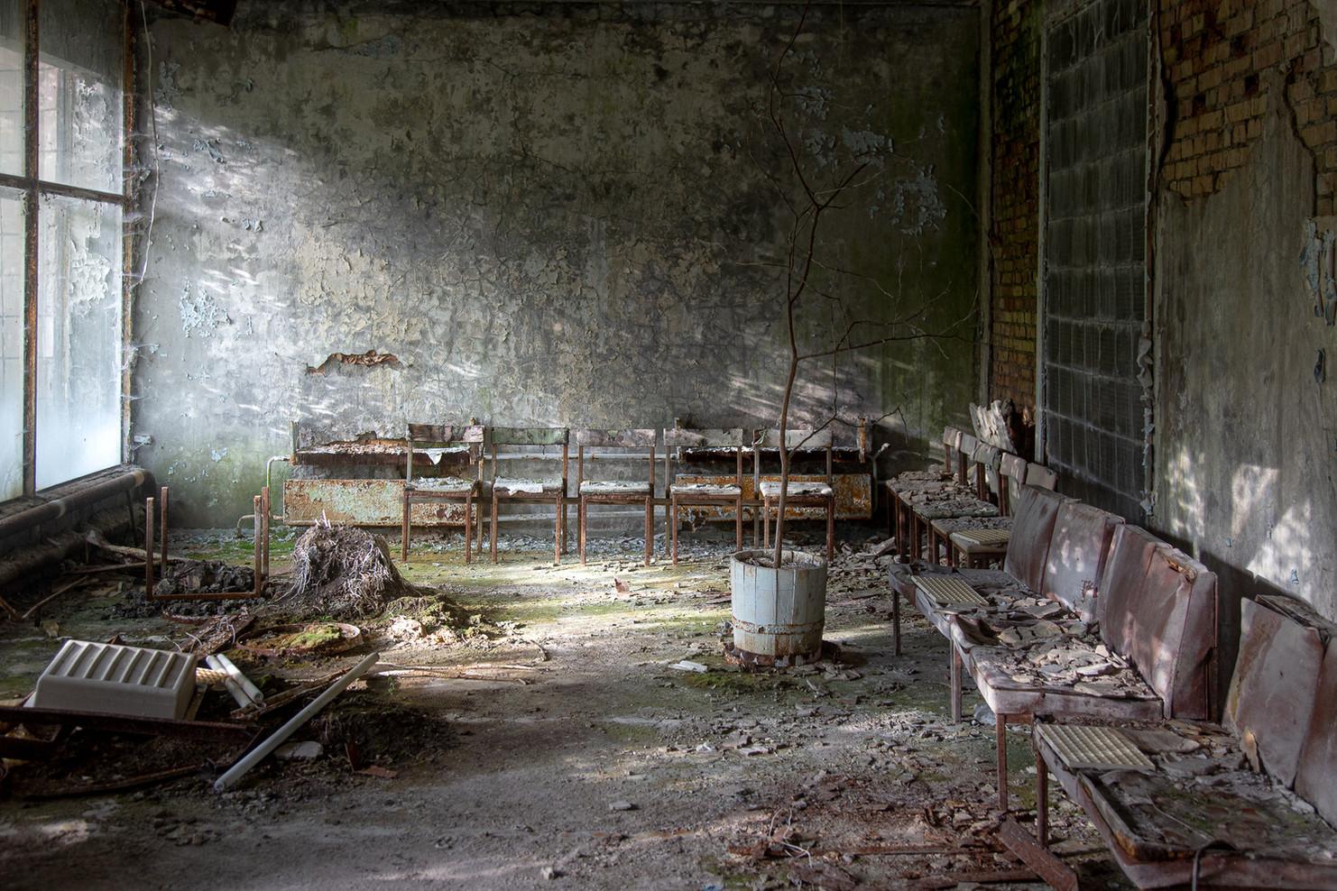 Salle d'attente, hôpital