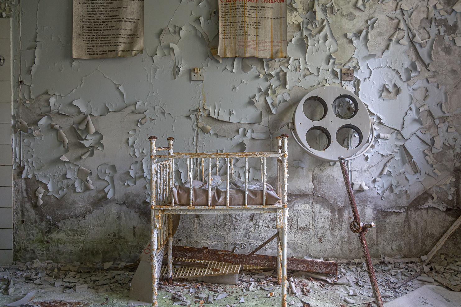 Section maternité de l'hôpital