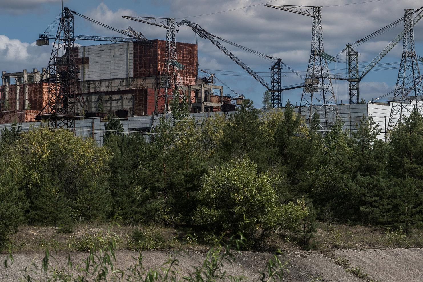 Réacteur numéro 5, inachevé