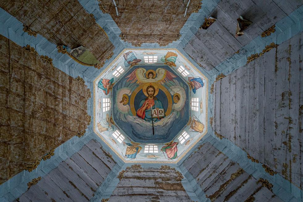 Eglise, village de Krasne