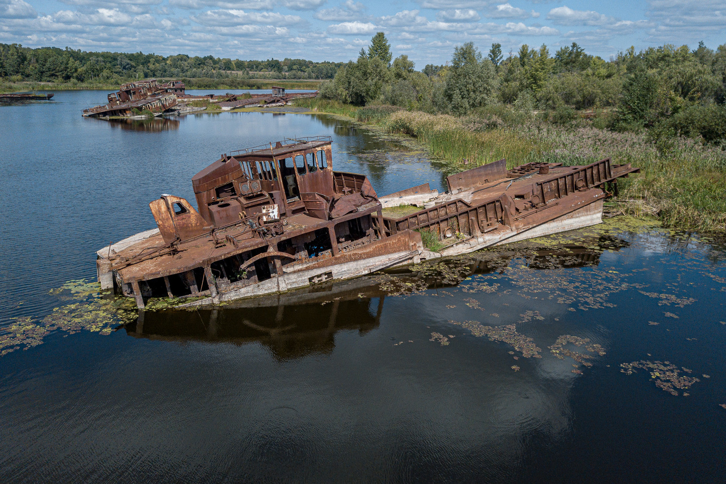 Port de Tchernobyl