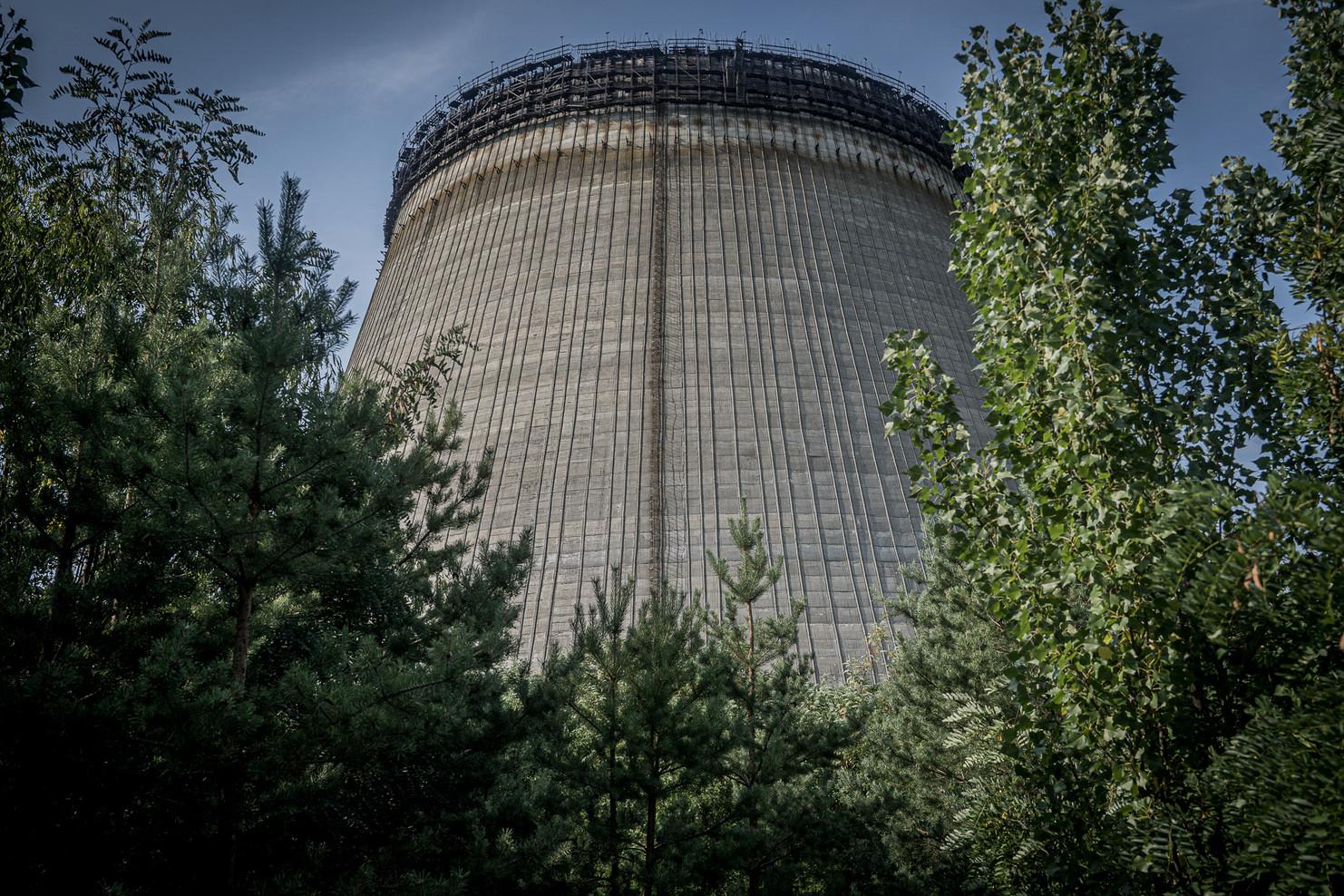 Tour de refroidissement des réacteur 5 et 6, inachevés