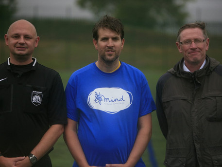 Charity Fundraising Game in aid of Mind.