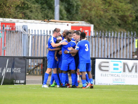 DUNSTABLE TOWN 3-3 COLESHILL TOWN
