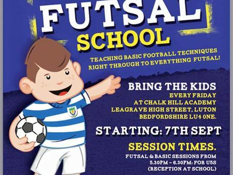Dunstable Town FC Mini Skills and Futsal school