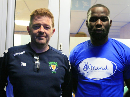Dunstable Town Football Club seeks to stamp out mental health stigma
