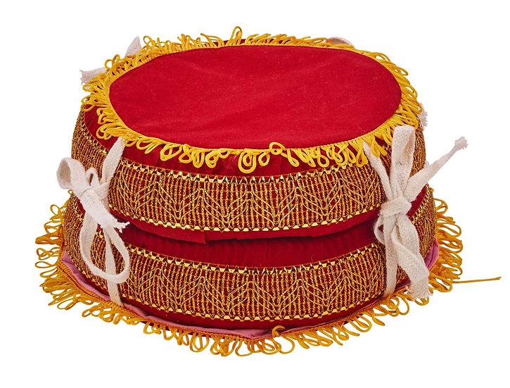 Paire d'anneaux tambour à eau (calebasses), Ø 22cm, Ø 24cm
