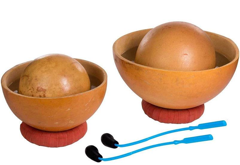 Tambour d'eau (calebasses), set de 4