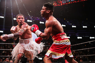 (Video) Tank Scores 12th Round KO Of Gamboa To Claim WBA Lightweight Title