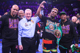 CHARLO STOPS HARRISON TO RECLAIM WBC SUPER WELTERWEIGHT TITLE