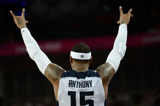 Melo Says Goodbye To International Competition
