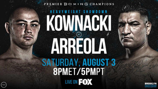Adam Kownacki Faces Chris Arreola in Heavyweight Showdown August 3 At Barclays Center