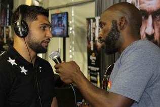 (Audio) Former Welterweight Champ Amir Kahn Talks Boxing With SNB!