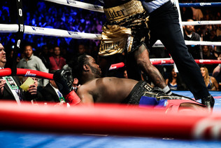 (Video) Wilder Ko's Stiverne In First Round!