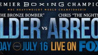 Wilder To Defend Title vs. Arreola in Birmingham