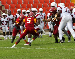 Virginia State Downs 14th Ranked Tuskegee 45-35