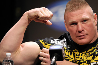 Brock Lesnar Flagged For PED Violation