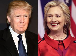 Clinton and Trump Take NY
