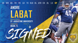 Labat Joins Wildcats Football to Bolster Kicking Game