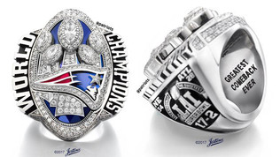 Pats SB Rings Feature 283 Diamonds... Petty Or Nah?