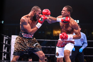 ROSARIO STOPS WILLIAMS TO CAPTURE WBA & IBF SUPER WELTERWEIGHT TITLES