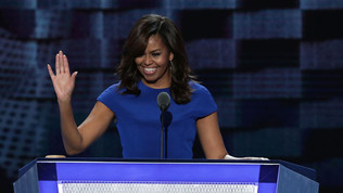 (Video) Michelle Obama Makes Case For Clinton