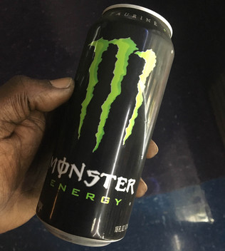 Big Rig Hit For 40k Worth Of Monster Energy