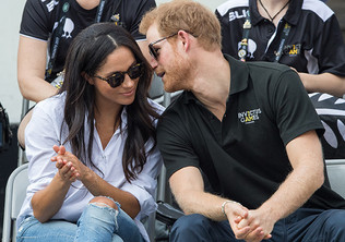 Racist Trolls Take Aim At Harry And Meghan...