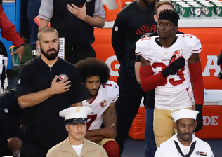 Kaepernick Takes A Knee And Puts His Money Where His Mouth Is...