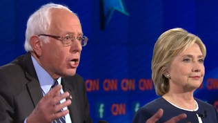 Clinton Meets With Sanders