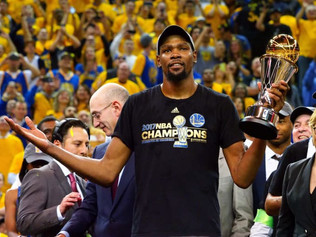 Durant Named Finals MVP After Warriors Game 5 Win