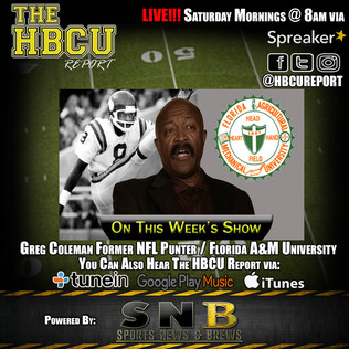 (Audio) ICYMI: Former NFL Punter Greg Coleman On The HBCU Report