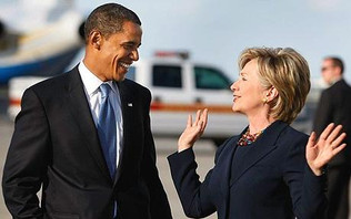 Clinton & Obama Rally Together In N.C.